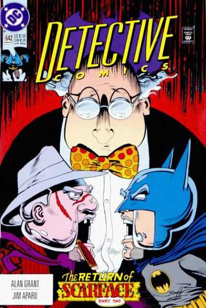 Detective Comics 642 - Puppets - Batman - Glasses - Necktie - Mad Scientist - Norm Breyfogle