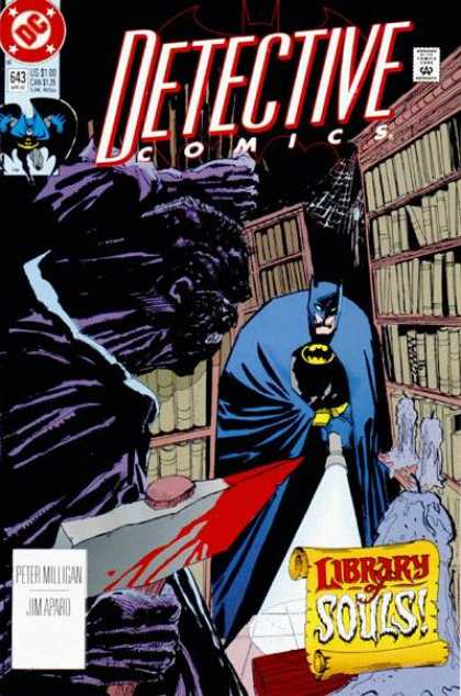 Detective Comics 643 - Batman - Books - Dc - Spiderweb - Bookshelves - Denys Cowan