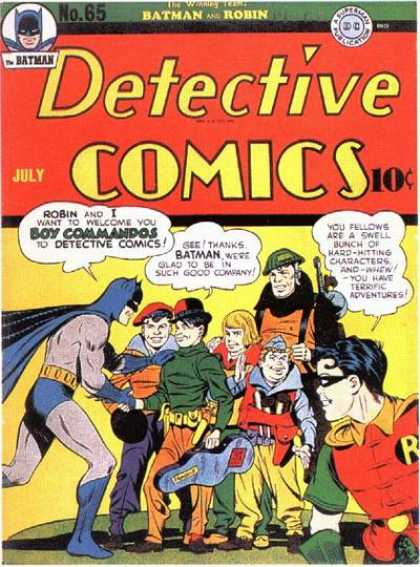 Detective Comics 65 - Jack Kirby, Jerry Robinson
