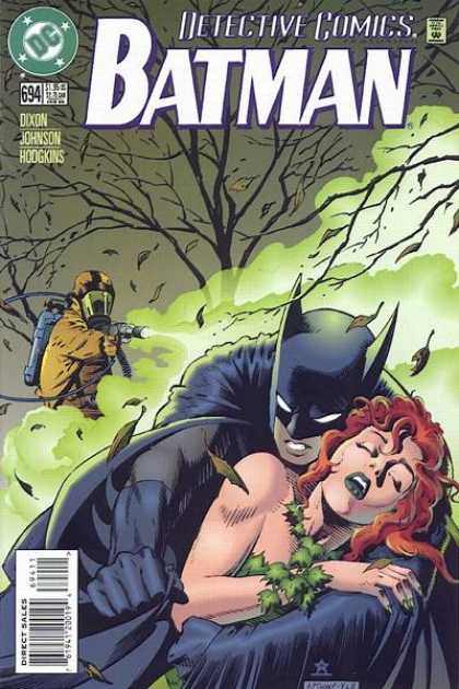 Detective Comics 694 - Batman - Tree - Approved By The Comics Code - Woman - Direct Sales