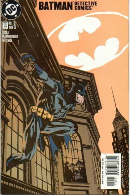 Detective Comics 742 - Batman - Dc - Bat Signal In The Sky - Rucka - Mitchell - Brian Stelfreeze