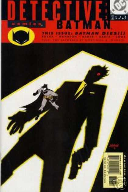 Detective Comics 753 - Batman - Shadow - This Issue Batman Dies - Dc - Direct Sales