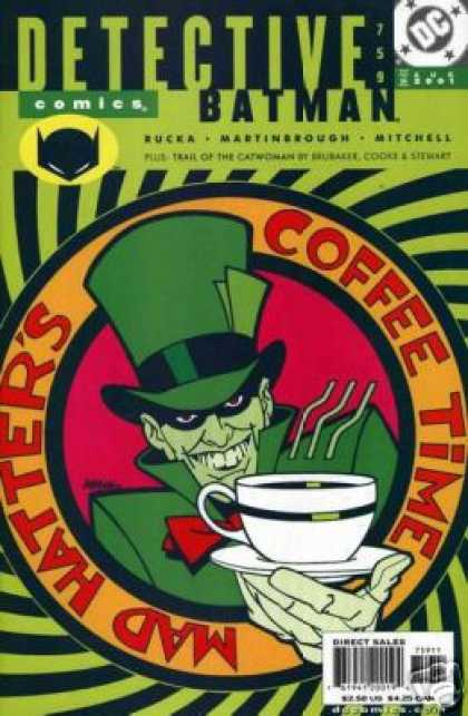 Detective Comics 759 - Coffee - Mad Hatter - Batman - Leprechaun - Dc
