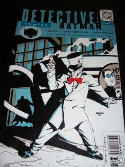 Detective Comics 760 - Gun - Batman - Coffee Cup - Top Hat - Building