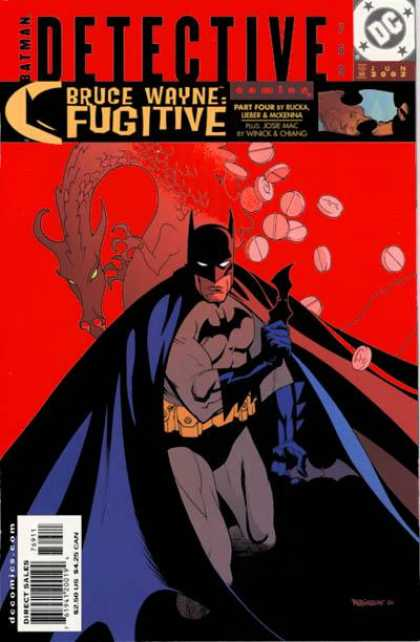 Detective Comics 769 - Dragon - Pills - Batman - Drugs - Bruce Wayne