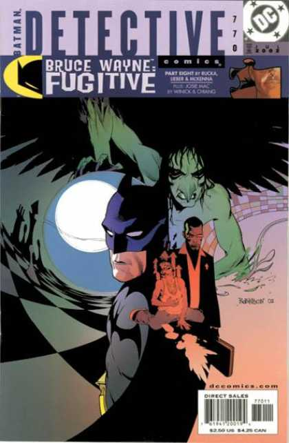 Detective Comics 770 - Batman - Moon - Chess
