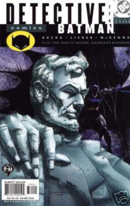 Detective Comics 774 - Batman - Lincoln - Alex Sinclair, Bill Sienkiewicz
