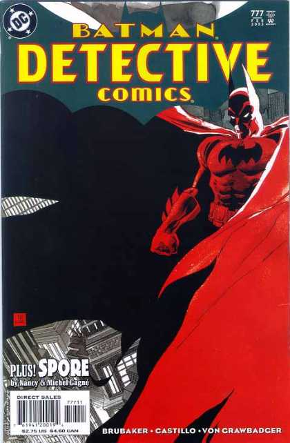 Detective Comics 777 - Red - Mark Chiarello, Tim Sale