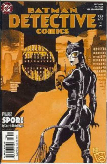 Detective Comics 780 - The Lady Is A Cat - Catwoman In The City - Batman Watch Out - Batman In The City - Watch Out For The Whip - Mark Chiarello, Tim Sale