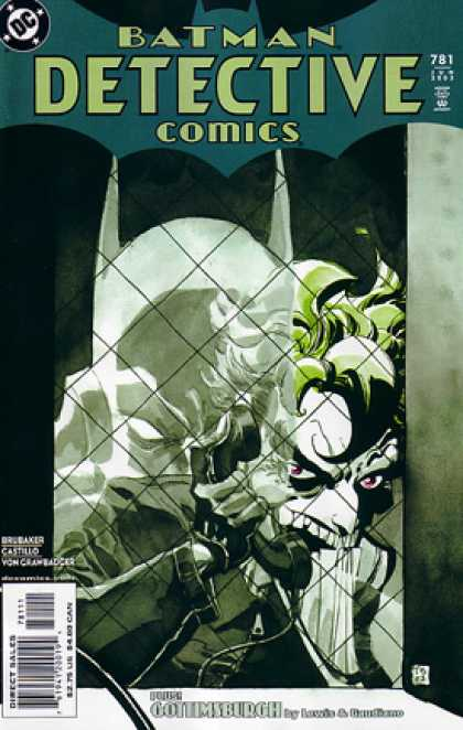 Detective Comics 781 - Batman - 781 - The Joker - Gottimsburgh - Brubaker - Mark Chiarello, Tim Sale