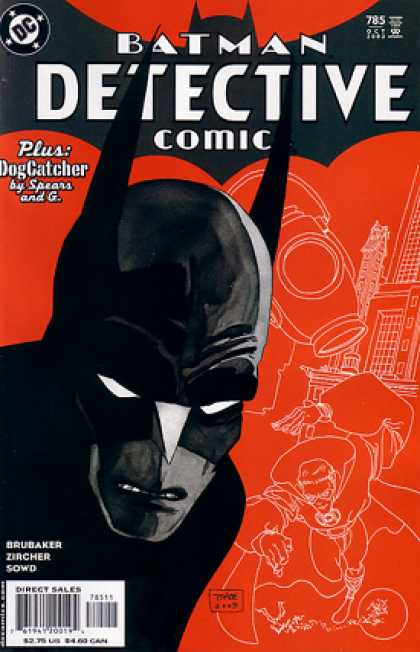 Detective Comics 785 - Batman - Red - Mark Chiarello, Tim Sale