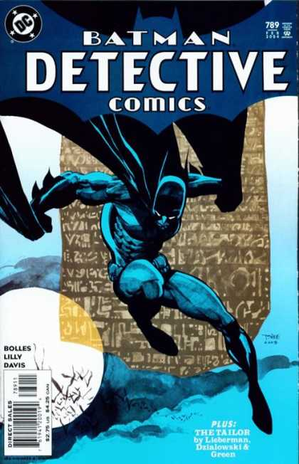 Detective Comics 789 - Batman - Moon - Cape - The Tailor - Davis - Tim Sale