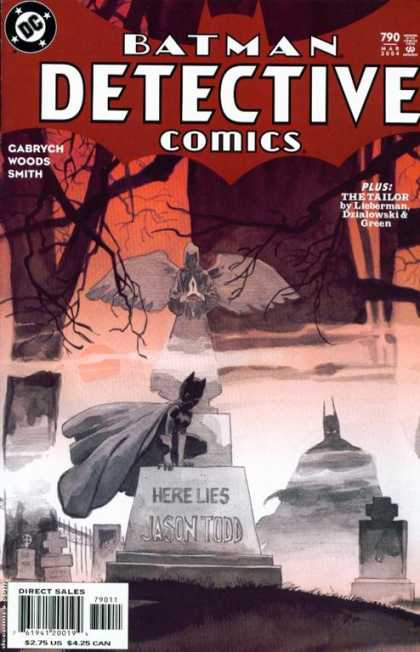 Detective Comics 790 - Grave - Batman - Tim Sale