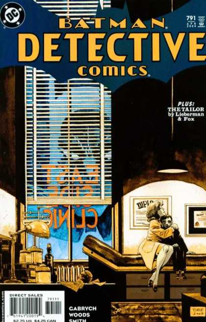 Detective Comics 791 - Fox - Tailor - Lieberman - Window Shades - Doctors Office - Tim Sale
