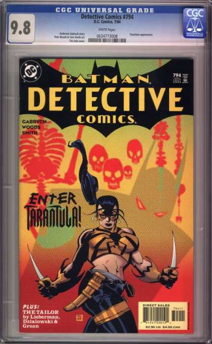 Detective Comics 794 - Batman - Gabrvch Woods Smith - Enter Tarantula - Cgc - 794 - Tim Sale