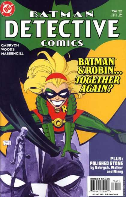 Detective Comics 796 - Robin - Batman - Gabrych Woods Massengill - Polished Stone - Superhero - Tim Sale