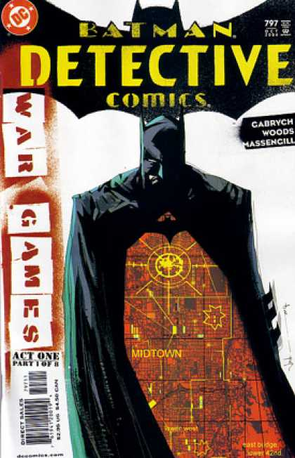Detective Comics 797 - War - Games - Grid - Mid Town - Target - Mark Simpson