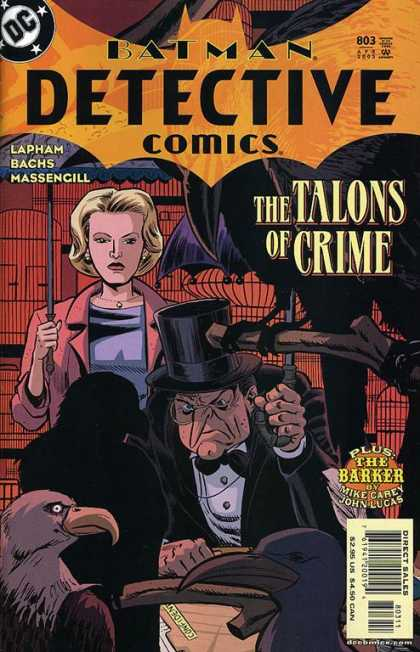 Detective Comics 803 - Penguin - Batman - Talons Of Crime - Lapham - The Barker - David Lapham