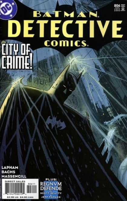 Detective Comics 806 - David Lapham