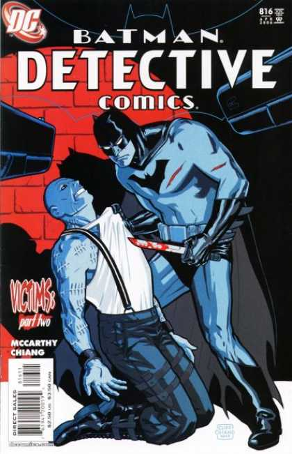 Detective Comics 816 - Batman - Knife