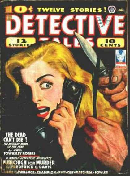 Detective Tales 35 - Telephone - Knife