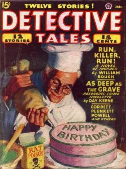 Detective Tales 44 - Cake - Poison