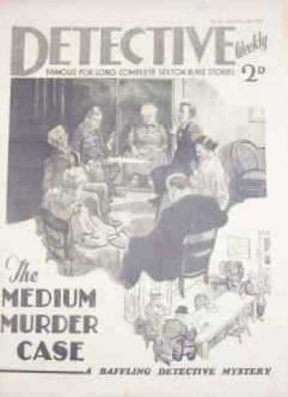 Detective Weekly 81 - Dedective - Murders - Case - Mystery - Story
