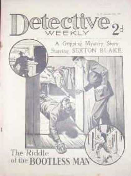 Detective Weekly 83 - Walking On Hands - Bootless - Pads On Hands - Escape - Old Days