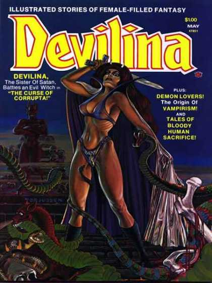 Devilina 2 - The Curse Of Corrupta - Demon Lovers - Bloody Human Sacrifice - Origin Of Vampirism - Female Filled Fantasy
