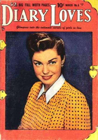 Diary Loves 8 - Secrets To Unlock The Female Heart - Love Letters - 1940s Glamour - A Woman In Love - Romance