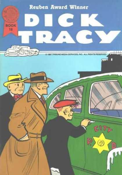 Dick Tracy (Blackthorne) 18 - Detective - Car - Outside - Youth - Colleague