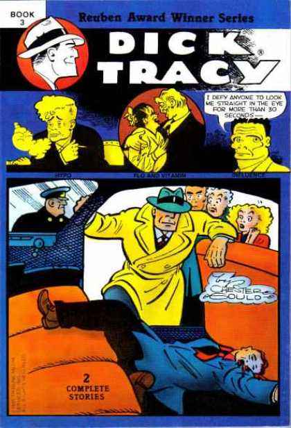 Dick Tracy (Blackthorne) 3 - Dick Tracy - Yellow Overcoat - Chester - 2 Complete Stories - Vintage