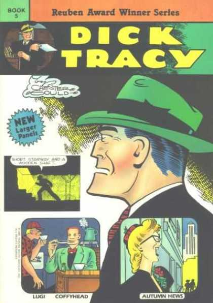 Dick Tracy (Blackthorne) 5 - Private Eye - Chester Gould - Lugi - Coffyhead - Autumn Hews