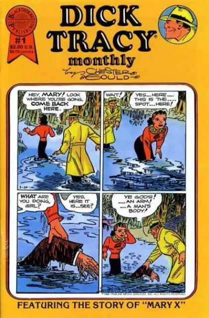 Dick Tracy Monthly 1