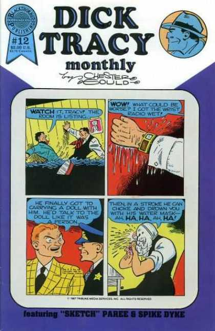 Dick Tracy Monthly 12