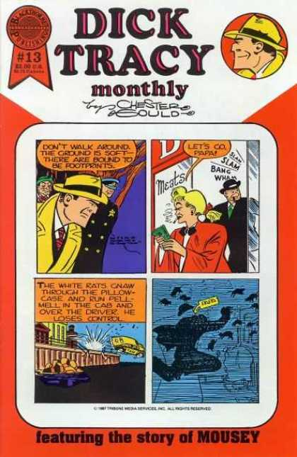 Dick Tracy Monthly 13 - Chester Sould - Lets Go Papa - Hat Man - Old Lady - Blasty