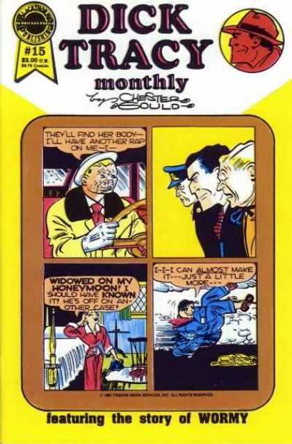 Dick Tracy Monthly 15