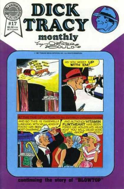 Dick Tracy Monthly 17 - Publishing - Services - Dog - Gun - Vitamin