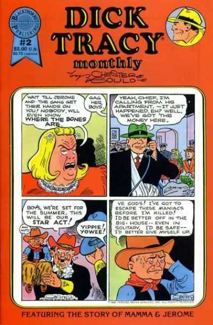 Dick Tracy Monthly 2
