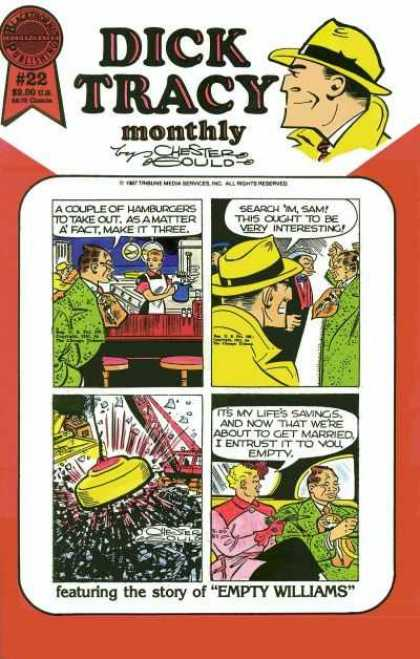 Dick Tracy Monthly 22 - Dick Tracy - Monthly - Chester - Yellow Hat - Green Coat