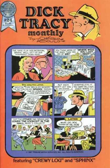 Dick Tracy Monthly 24