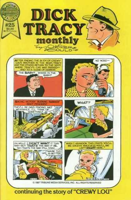 Dick Tracy Monthly 25