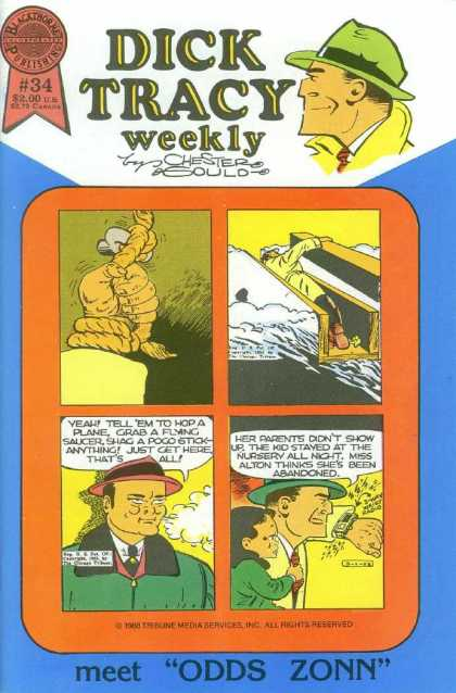 Dick Tracy Weekly 34