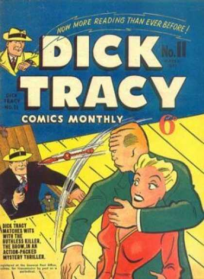 Dick Tracy 11 - Ruthless Killer - Action Packed - Thriller - Mystery - The Brow