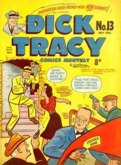 Dick Tracy 13 - Cops - Crime - Bad Guy - Stealing - Detective