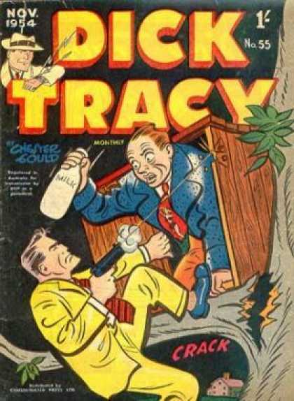 Dick Tracy 55 - Detective - Brave - Hero - Police Man - Guy With Hat