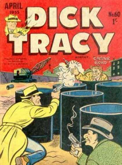 Dick Tracy 60 - Shoot Out - Barrels - Crane - Construction Site - Villian