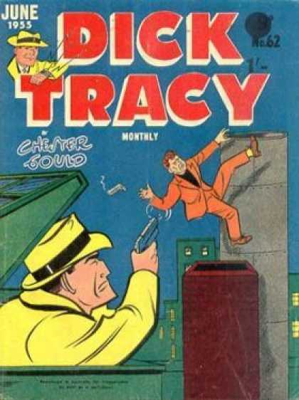 Dick Tracy 62 - June 1955 - Dick Tracy - Chester Gould - No 62 - Dick Tracy In A Dumpster