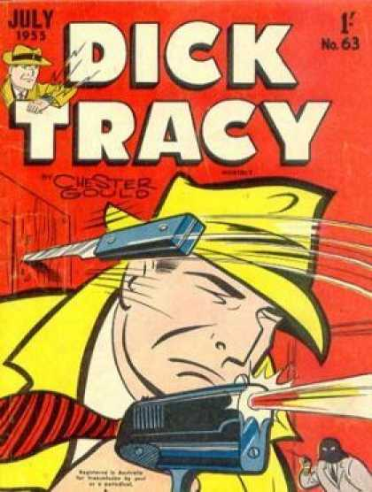 Dick Tracy 63 - Close Call - Yellow Hat - Man In The Back - Fire Fight - Old Story