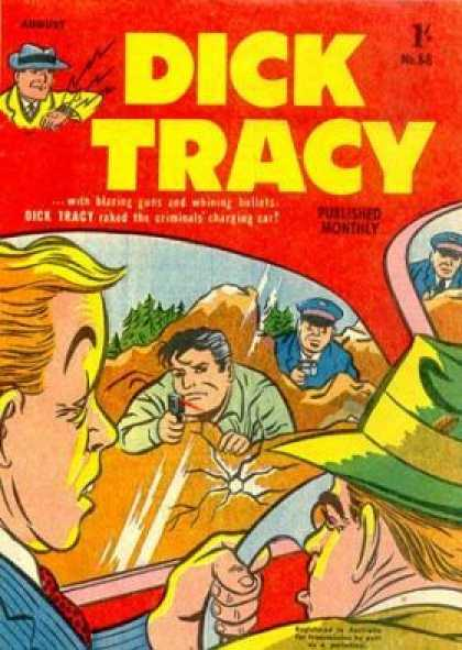 Dick Tracy 88 - Ambush - Sneak Attack - The Bad Guys Get What Coming To Them - Evil Tries To Outrun The Law - Justice Comes Calling